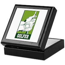 Personalized Golfer Keepsake Box