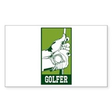 Personalized Golfer Decal