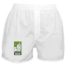 Personalized Golfer Boxer Shorts