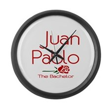 The Bachelor Juan Pablo Large Wall Clock