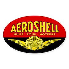 Aeroshell - Huile Pour Moteurs Decal