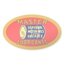 Master Lube Decal