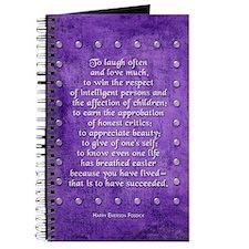 Laugh often... Journal
