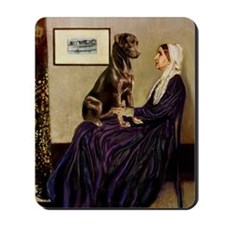 Mom's Chocolate Lab Mousepad