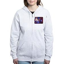 Space - Galaxy - Stars Zip Hoodie