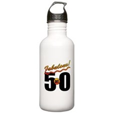 Fabulous At 50 Water Bottle