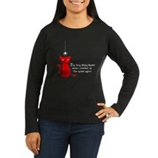 Bitsy Spider Women's Long Sleeve Dark T-Shirt