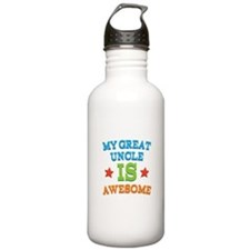My Great Uncle Is awesome Water Bottle
