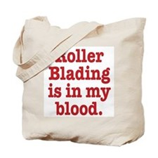 Unique Roller blading Tote Bag