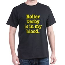 Funny Roller skating men T-Shirt