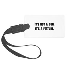 Bug Feature Luggage Tag