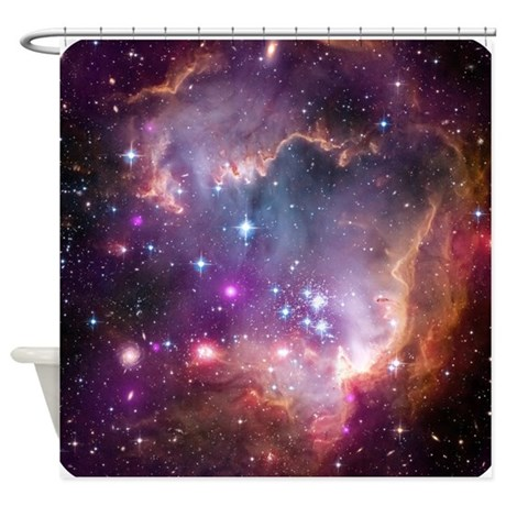 Outer Space Nasa Science Shower Curtain By