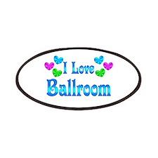I Love Ballroom Patches