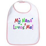 My Nana Loves Me (des. #1) Bib