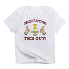Funny 1st Birthday For Boys Infant T-Shirt