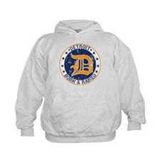 Detroit born and raised Hoodie