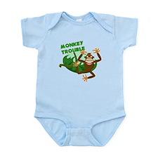 monkey trouble Body Suit