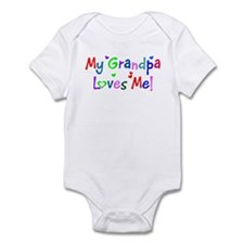 My Grandpa Loves Me (des. #1) Infant Bodysuit