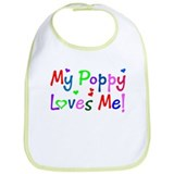 My Poppy Loves Me (des. #1) Bib