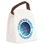 Blue Marlin Canvas Lunch Bag