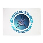 Blue Marlin 5'x7'Area Rug
