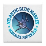 Blue Marlin Tile Coaster