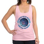 Blue Marlin Racerback Tank Top