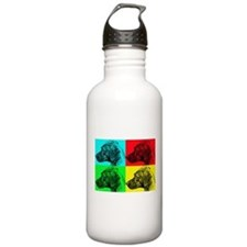 Rhodesian Pop Water Bottle