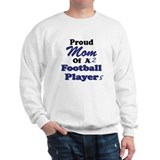 Proud Mom 2 Football Players Sweatshirt