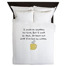 i would do anything for love Queen Duvet