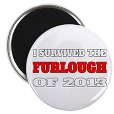 I survived the Furlough of 2013 Magnet