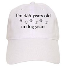 65 dog years 4-2 Baseball Baseball Cap