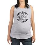 FIN-get-reel-go-fish-black.png Maternity Tank Top