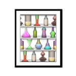 The Mad Scientist Framed Panel Print