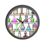 The Mad Scientist Wall Clock