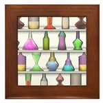 The Mad Scientist Framed Tile