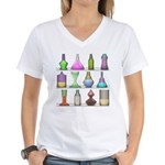 The Mad Scientist Women's V-Neck T-Shirt