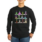 The Mad Scientist Long Sleeve Dark T-Shirt