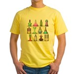 The Mad Scientist Yellow T-Shirt