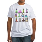 The Mad Scientist Fitted T-Shirt