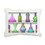 The Mad Scientist Rectangular Canvas Pillow