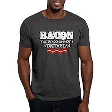 Bacon - Not a Vegetarian T-Shirt