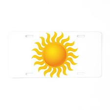 Sun - Sunny - Summer Aluminum License Plate