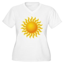 Sun - Sunny - Summer Plus Size T-Shirt