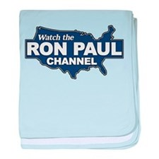 Watch The Ron Paul Channel! baby blanket