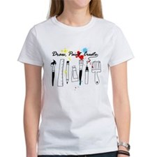 Draw Paint Create (Color) Tee