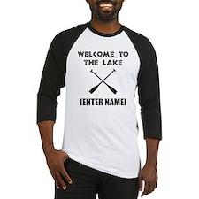 Welcome Lake [Personalize It!] Baseball Jersey