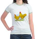 Buff Plymouth Rocks Jr. Ringer T-Shirt
