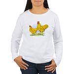 Buff Plymouth Rocks Women's Long Sleeve T-Shirt