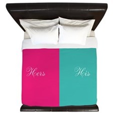His and Hers King Duvet
